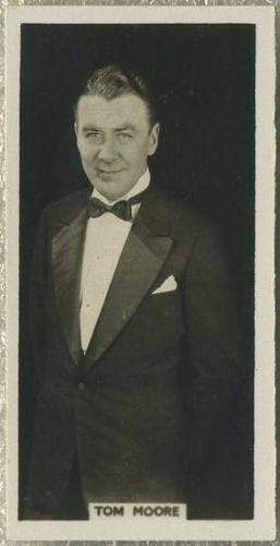 Tom Moore 1925 Rothmans Cinema Stars Tobacco Card #15