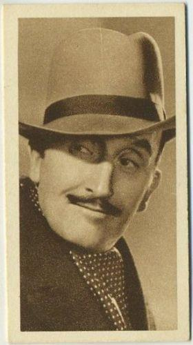 Tom Walls 1933 Sarony Cinema Stars Tobacco Card #23