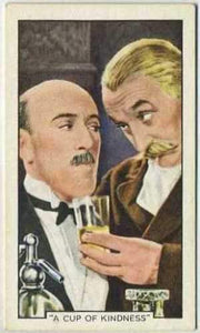 Tom Walls + Robertson Hare 1935 Gallaher Movie Star Tobacco Card #5
