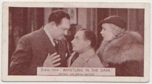 Una Merkel + Edward Arnold 1935 Ardath SCENES FROM BIG FILMS Tobacco Card #42