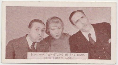 Una Merkel + John Miljan 1935 Ardath SCENES FROM BIG FILMS Tobacco Card #43