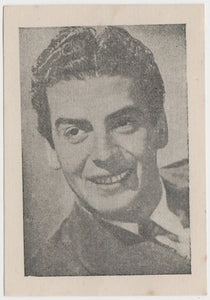 Victor Mature Vintage 1950s Maple Leaf Playing Card of Film Star