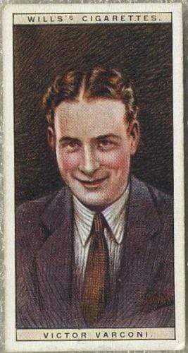 Victor Varconi 1928 Wills Cinema Stars Tobacco Card Series 2 #25