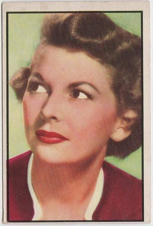 Virginia Dwyer 1953 BOWMAN Television and Radio Stars of NBC Trading Card #60