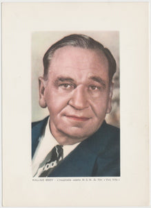 Wallace Beery 1936 R95 8x10 Linen Textured Premium Photo - OLD HUTCH