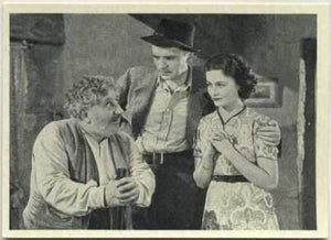 Will Fyffe + Margaret Lockwood 1940 Max Cinema Cavalcade Tobacco Card Vol 1 #120