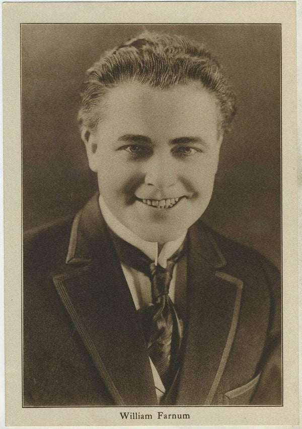 William Farnum 1920s Motion Picture Magazine Paper Premium Photo 5.5 X 8
