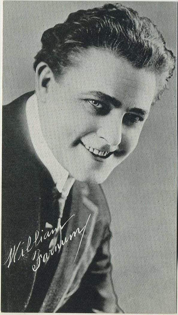 William Farnum circa 1917 Theatrical Advertising Co 3x5 Large Trading Card