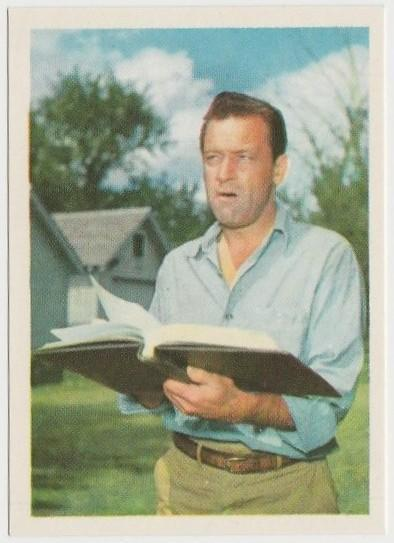 William Holden 1964 Cumbre Film and Recording Stars Trading Card #99