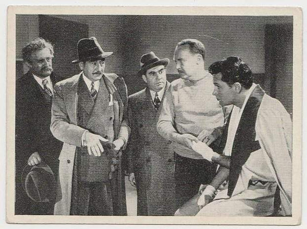 William Holden + Adolphe Menjou 1940 Max Cinema Cavalcade Tobacco Card Vol 2 #201 MD