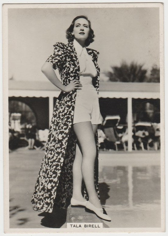 Tala Birell 1938 BAT Modern Beauties XL Trading Card Series 5 #29