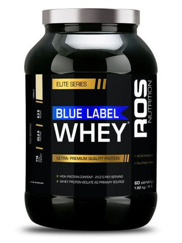 ROS Nutrition Blue Label Whey Elite (Batch Tested) - KQ FITNESS ONLINE