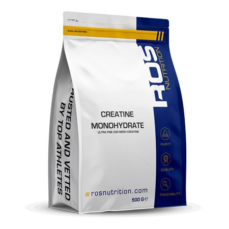 Ros Nutrition Creatine Monohydrate (Batch Tested) - KQ FITNESS ONLINE
