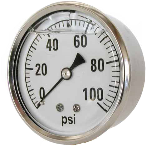 41 Series Back Mount Pressure Gauges