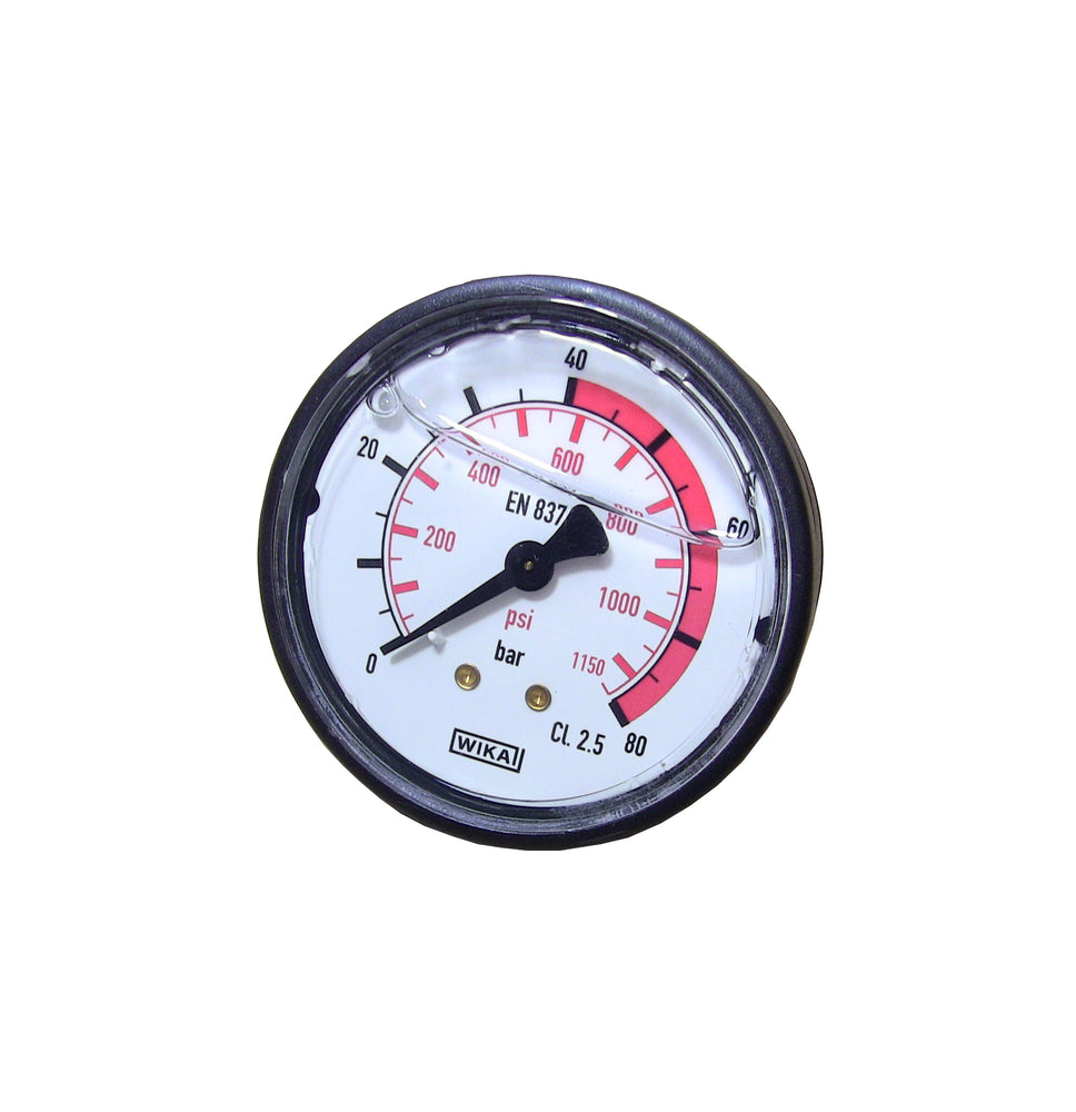GG-1000 PSI Back Mount Pressure Gauge