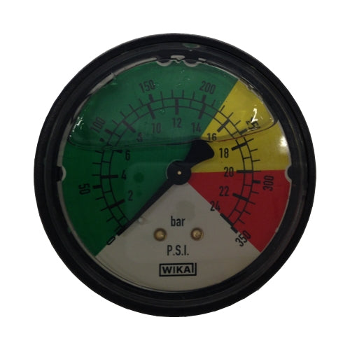 Udor 350 PSI Gauge - Back Mount