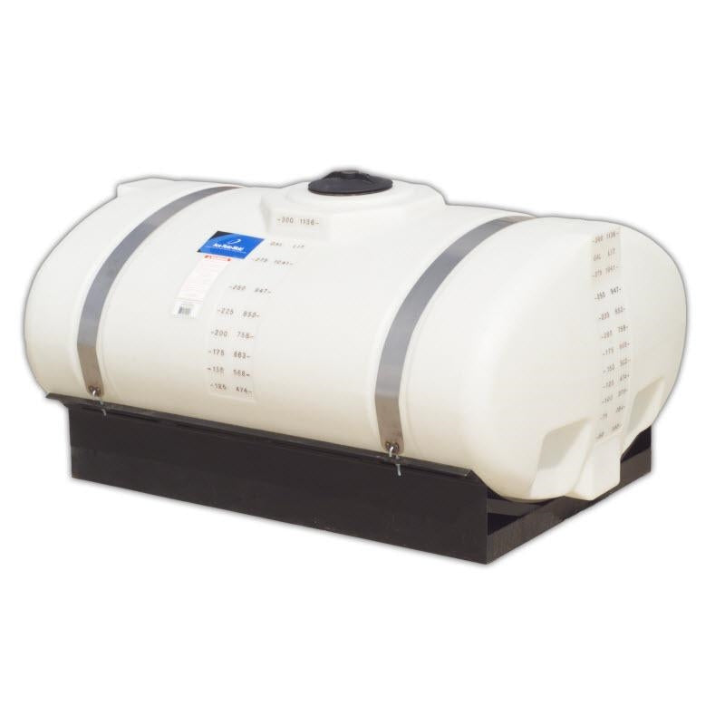 300-Gallon Elliptical Tank with Cradle