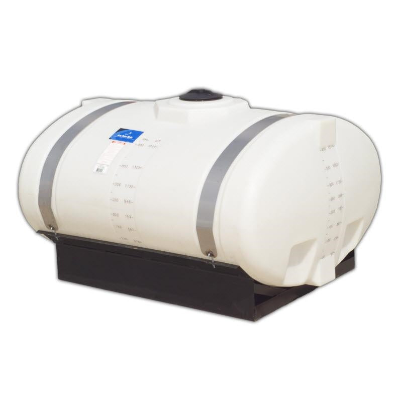500-Gallon Elliptical Tank with Cradle