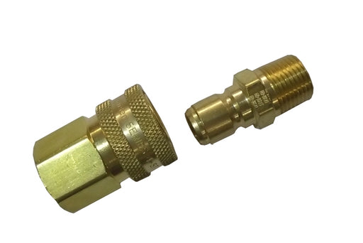 "1/2"" Brass Quick Disconnect Set"