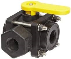 "Banjo 3/4"" 3-Way Side Load Valve"