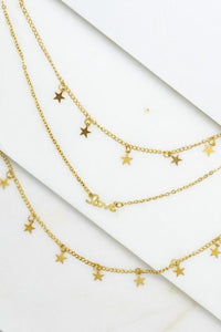 Stars In The Sky: Star Layered Necklace