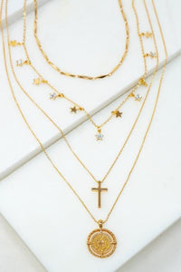 With You Tonight: Layered Necklace