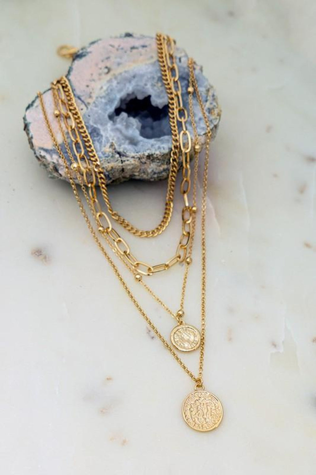 All The Feels: Layered Necklace