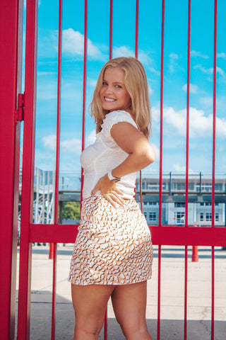 Make You Miss Me: Leopard Print Mini Skirt