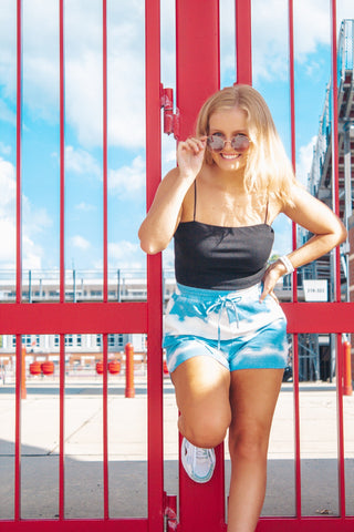Nothing Like You: Tie-Dye Shorts