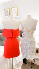 Load image into Gallery viewer, Celebrate Good Times Strapless Red Dress