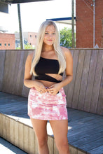 Load image into Gallery viewer, We're Breaking Free: Tie Dye Skirt Pink