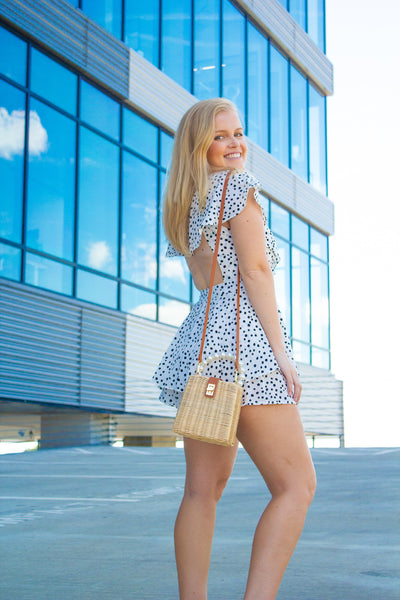 Can I Have This Dance: Polka Dot Romper