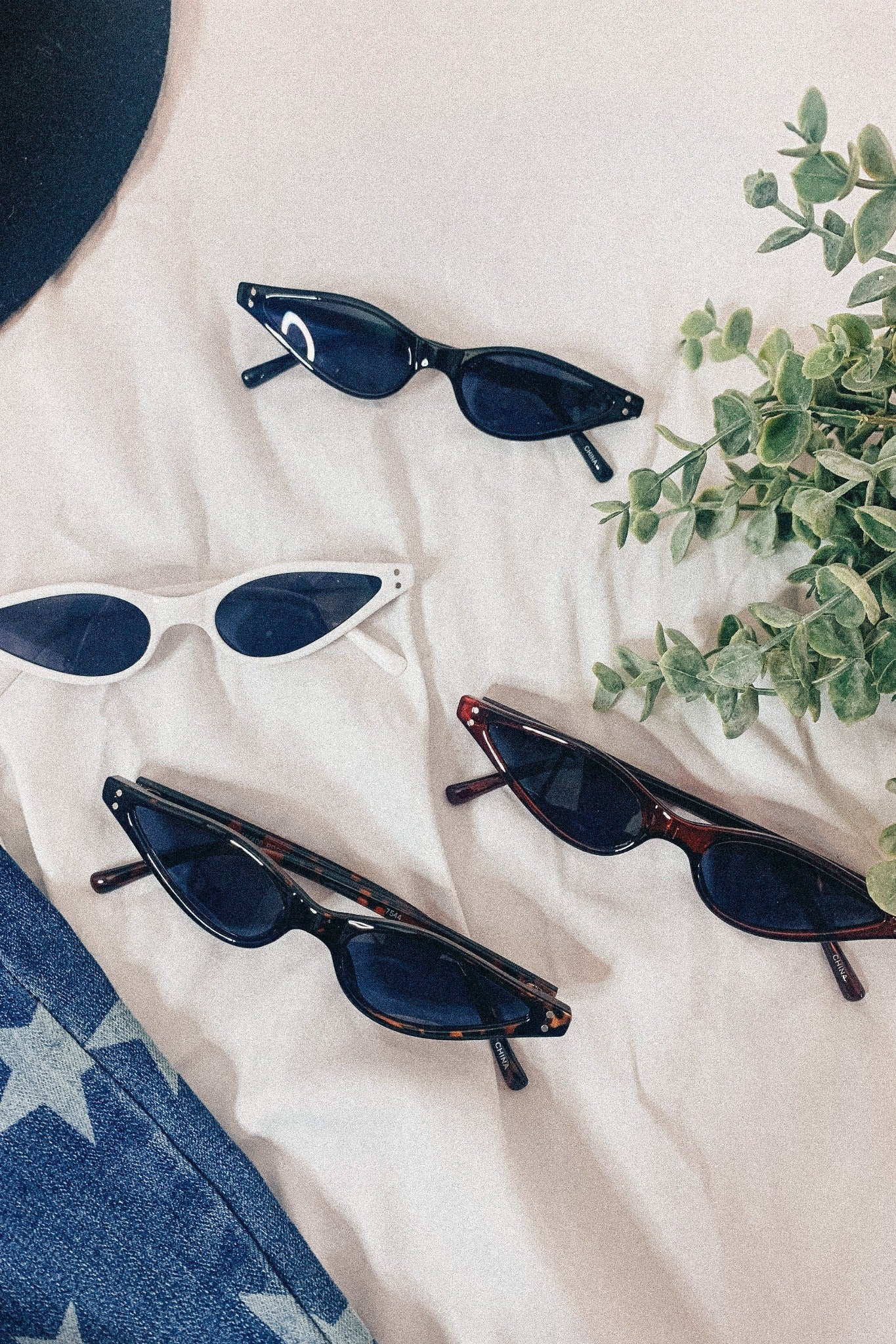 Still Into You: Chic Cat-Eyed Sunglasses