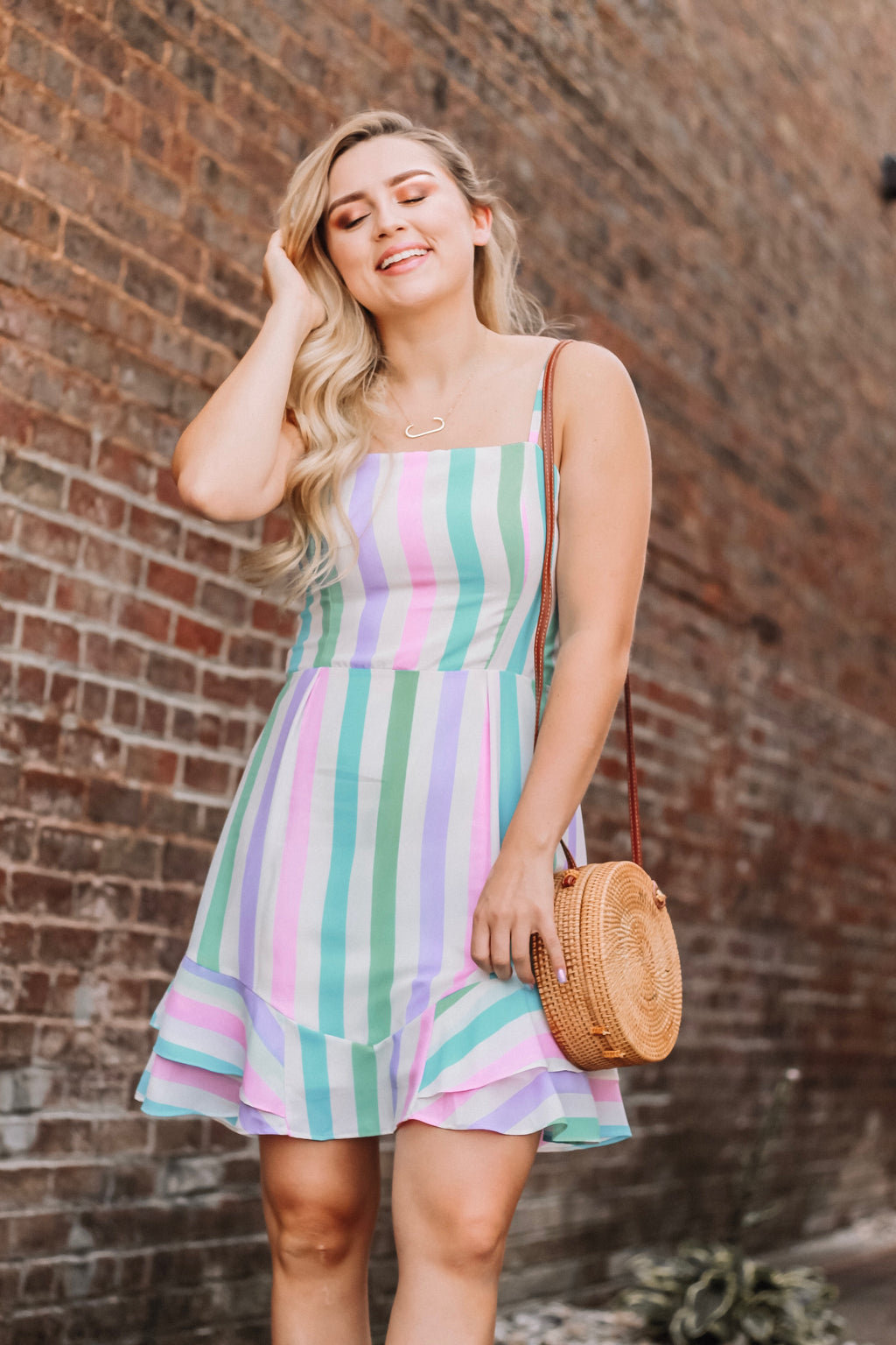 Sweet As Candy - Striped Dress