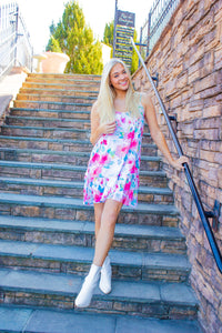 The Party's Just Begun - Floral Dress-Dresses-Willye Leigh Boutique-Willye Leigh Boutique