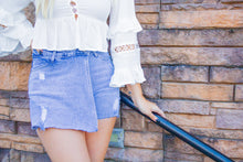 Load image into Gallery viewer, Endless Nights - Denim Shorts-Shorts-Willye Leigh Boutique-Willye Leigh Boutique