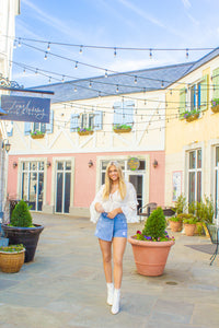 Endless Nights - Denim Shorts-Shorts-Willye Leigh Boutique-Willye Leigh Boutique