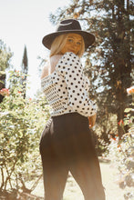 Load image into Gallery viewer, Dangerously In Love: Polka Dot Blouse