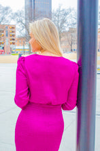 Load image into Gallery viewer, Stealing Our Love - Magenta Dress