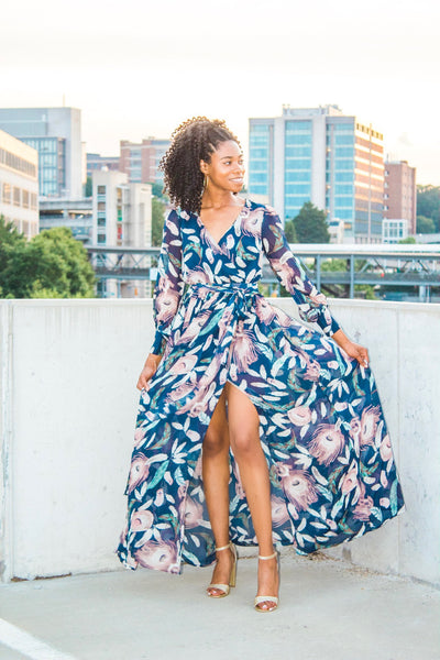 Enchanted By You - Floral Maxi Dress