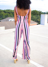 Load image into Gallery viewer, You Belong With Me - Striped Jumpsuit