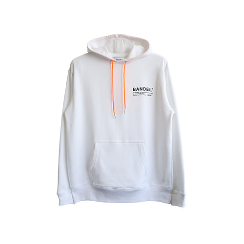 Bandel Collection Line Ghost Hoodie White