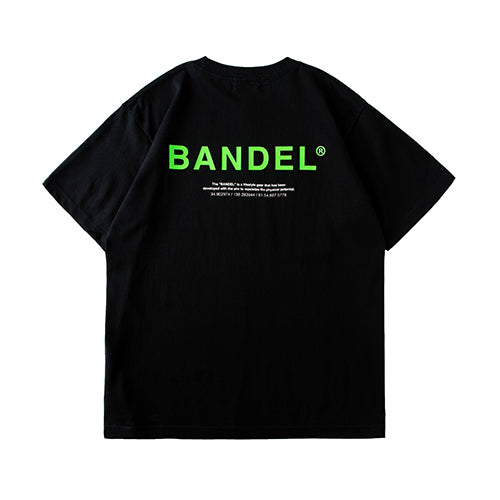 Bandel Collection Line Ghost XL-LOGO Tshirts Black/Green