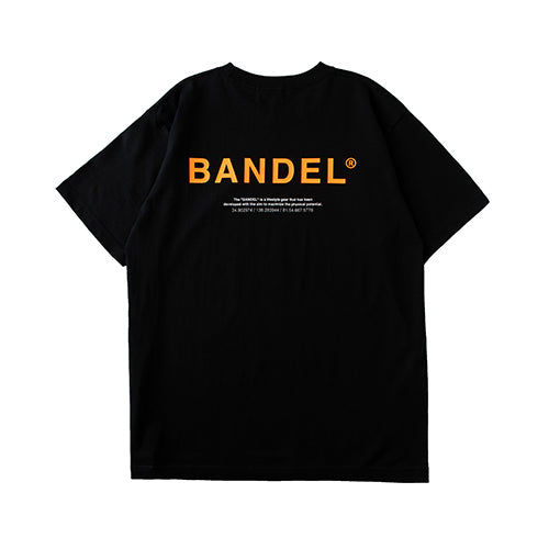 Bandel Collection Line Ghost XL-LOGO Tshirts Black/Orange