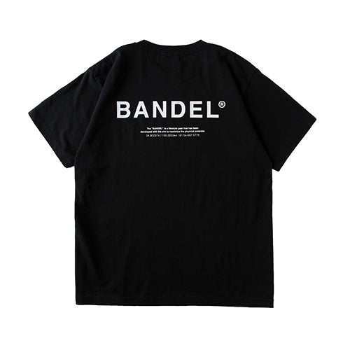 Bandel Collection Line Ghost XL-LOGO Tshirts Black/White