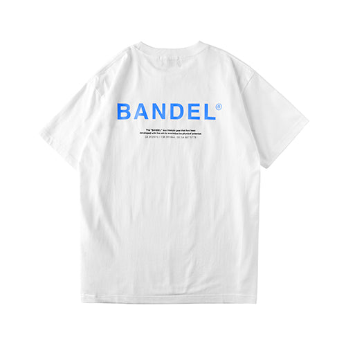 Bandel Collection Line Ghost XL-LOGO Tshirts White/Blue