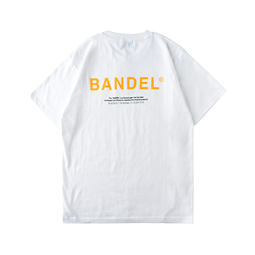 Bandel Collection Line Ghost XL-LOGO Tshirts White/Orange