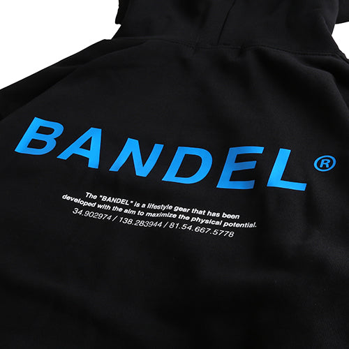 Bandel Collection Line Ghost XL-LOGO Hoodie Black/Blue