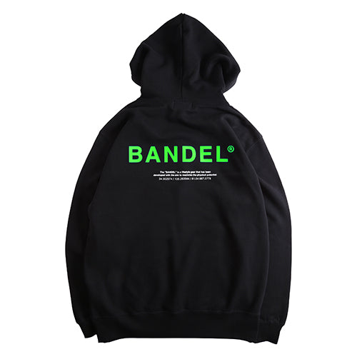 Bandel Collection Line Ghost XL-LOGO Hoodie Black/Green