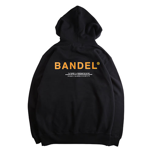 Bandel Collection Line Ghost XL-LOGO Hoodie Black/Orange